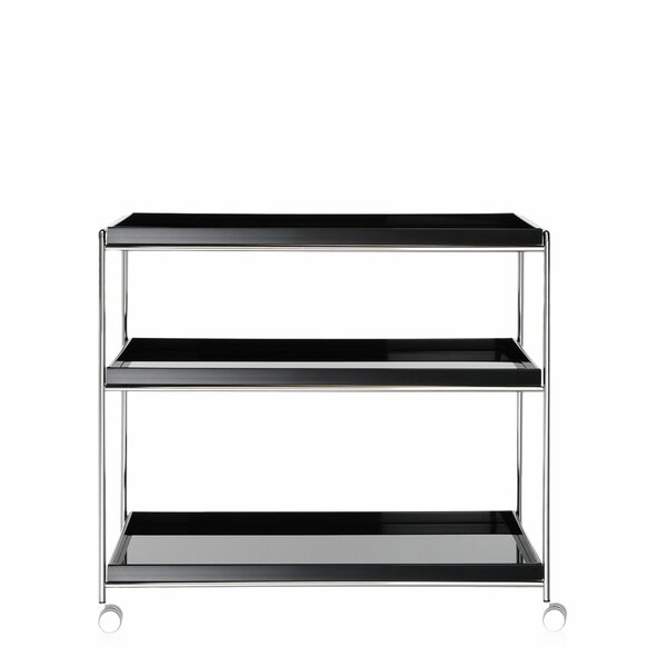 Trays- 3 Shelves Trolley By Kartell