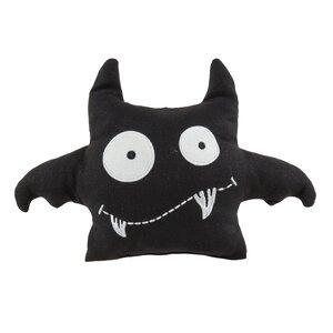 Bat Crazy Throw Pillow