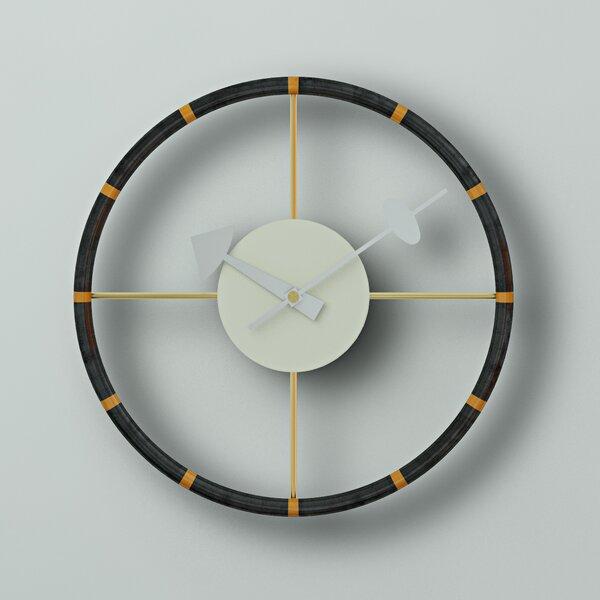 12 Round Metal Wall Clock By Wade Logan.