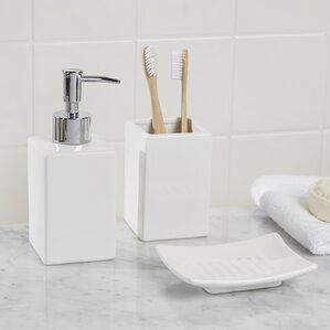 osseo 3 piece bathroom accessory set