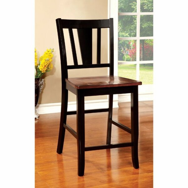 Adalbert Solid Wood Dining Chair (Set of 2) by Darby Home Co