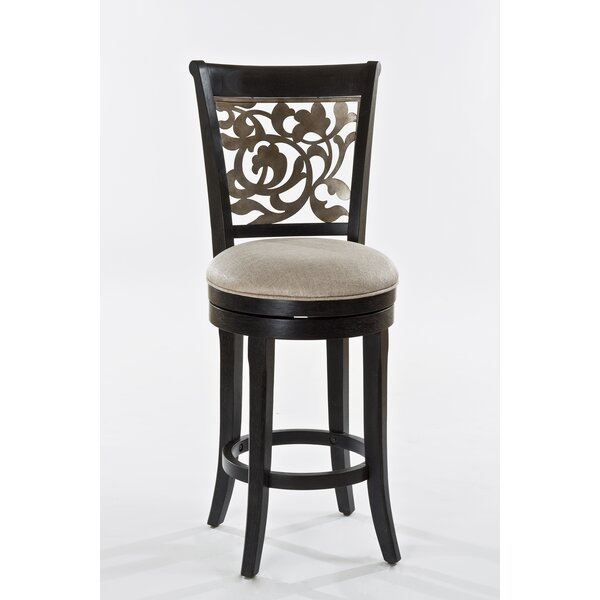 Chuckanut 30 Swivel Bar Stool by Fleur De Lis Living