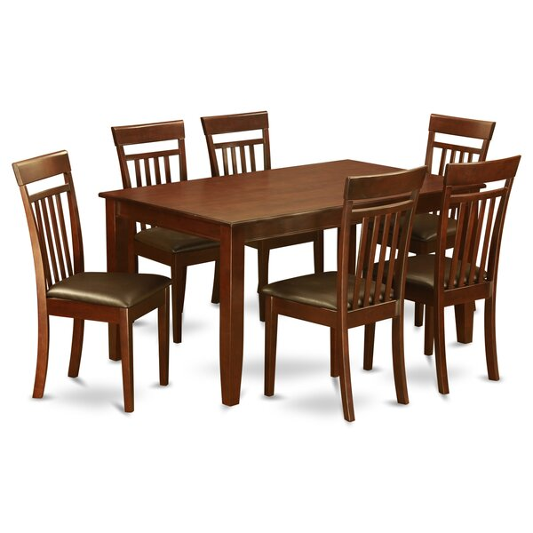 Dudley 7 Piece Dining Set by Wooden Importers