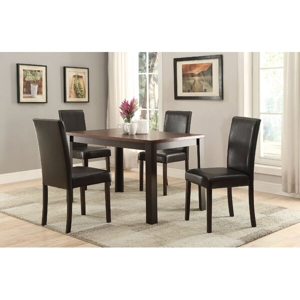 Elsaid 5 Piece Dining Set by Winston Porter Winston Porter