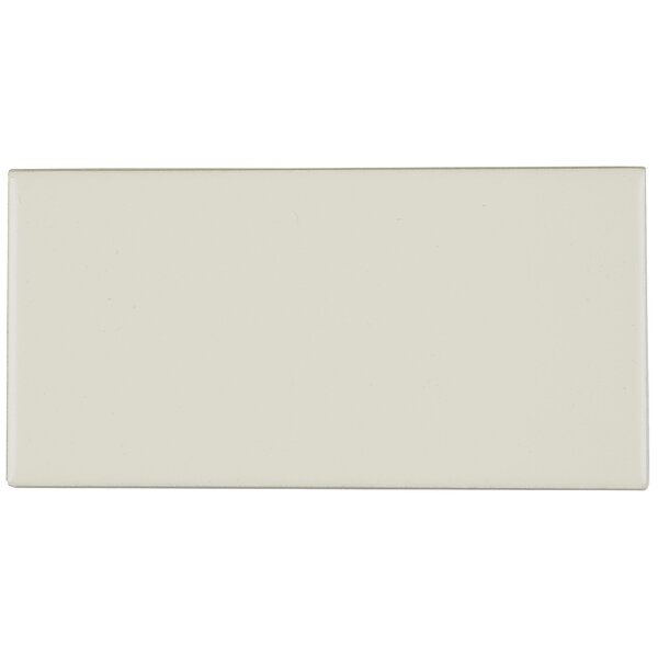 Guilford 3 x 6 Ceramic Subway Tile in Matte Biscuit by Itona Tile