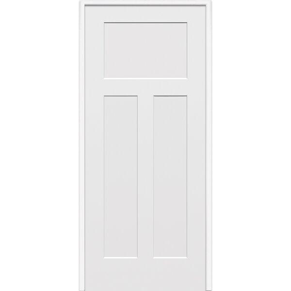 Craftsman Primed Single MDF Panelled Prehung Interior Door by Verona Home Design