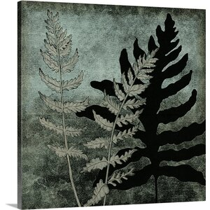 Illuminated Ferns I by Megan Meagher Painting Print on Canvas by Great Big Canvas