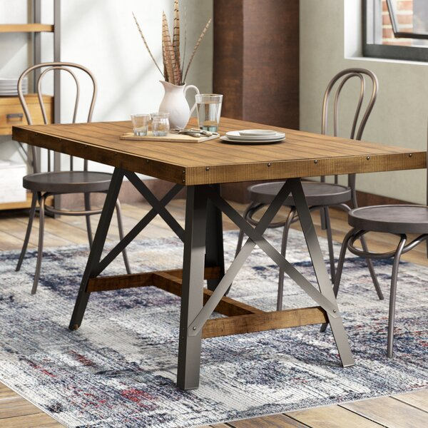 Laguna Reclaimed Solid Wood Dining Table by Trent Austin Design