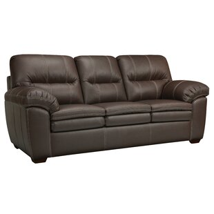 Woodberry Leather Sofa