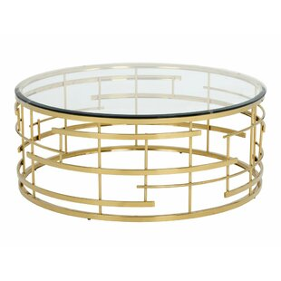 Price comparison Rebbecca Glass Coffee Table By Everly Quinn