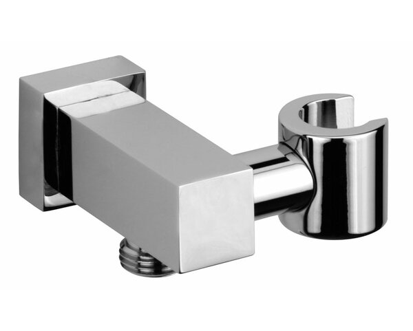Jewel Shower Series Solid Brass Modern Shower Wall Union with Hand Shower Holder by Jewel Faucets
