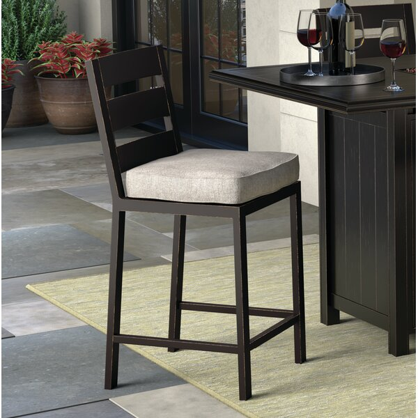 Beringer Patio Bar Stool with Cushion (Set of 2) by Darby Home Co| @ $389.99