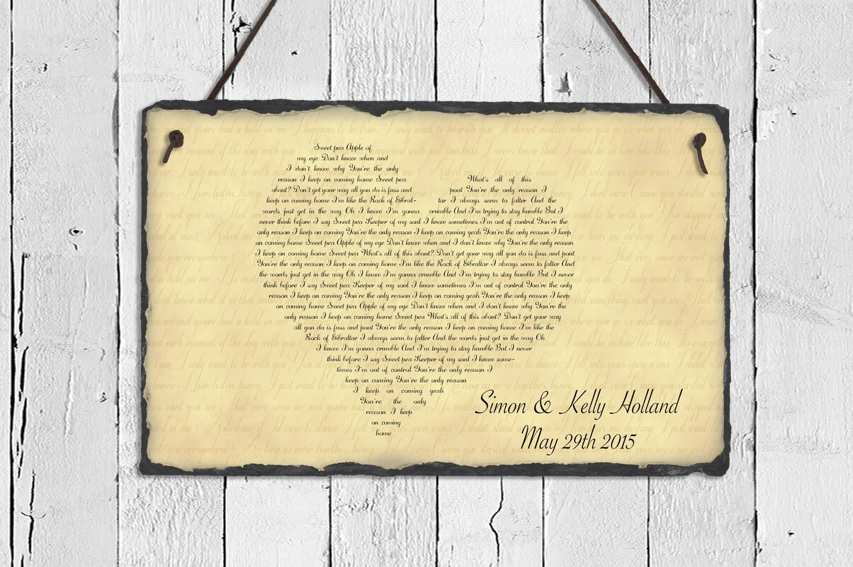 Amazing Song Lyrics Wall Decor Sketch - The Wall Art Decorations ...