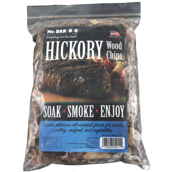 Hickory Wood Smoking Chips (Set of 2) by Mr. Bar-B-Q