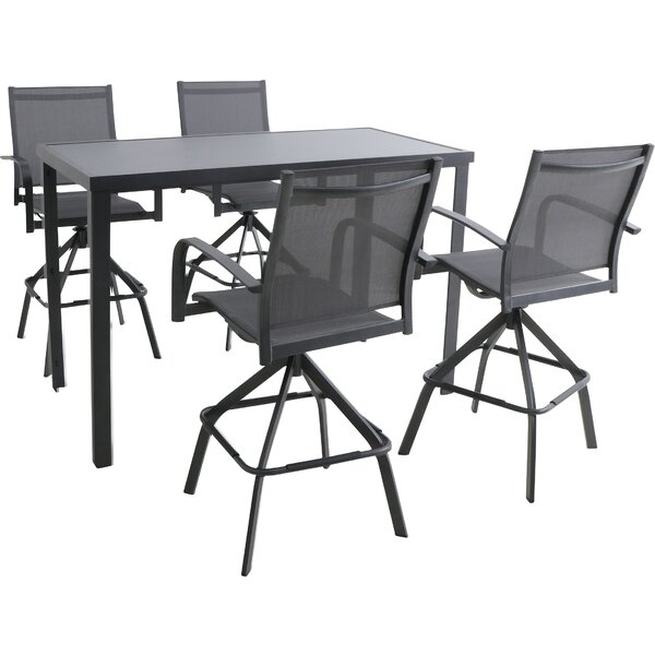Cerqueira 5 Piece Dining Set by Latitude Run