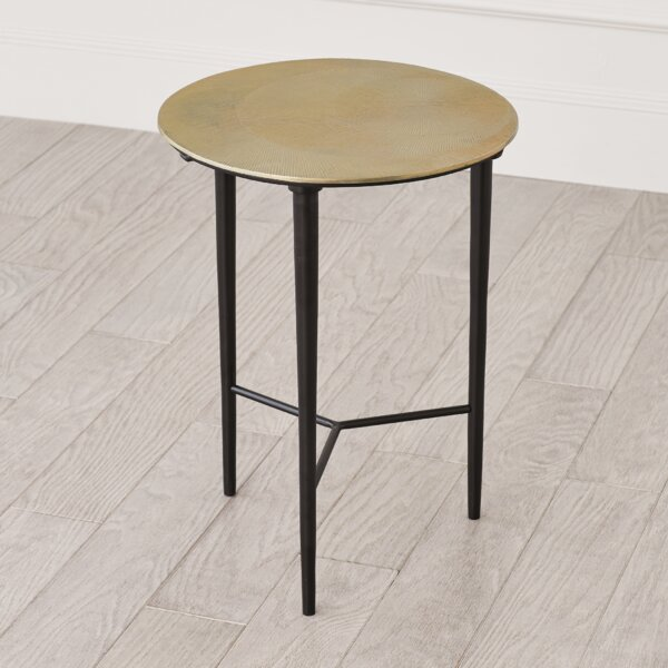Circle Etched End Table By Global Views