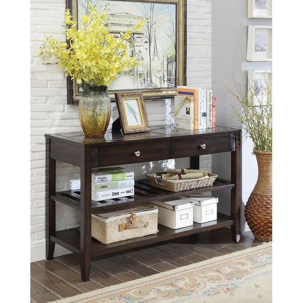 Janney Console Table by Alcott Hill
