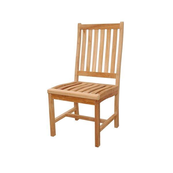 Wilshire Teak Patio Dining Chair by Anderson Teak Anderson Teak