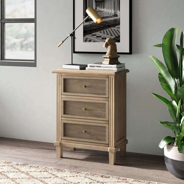 Adelbert 3 Drawer Accent Chest by Greyleigh Greyleigh
