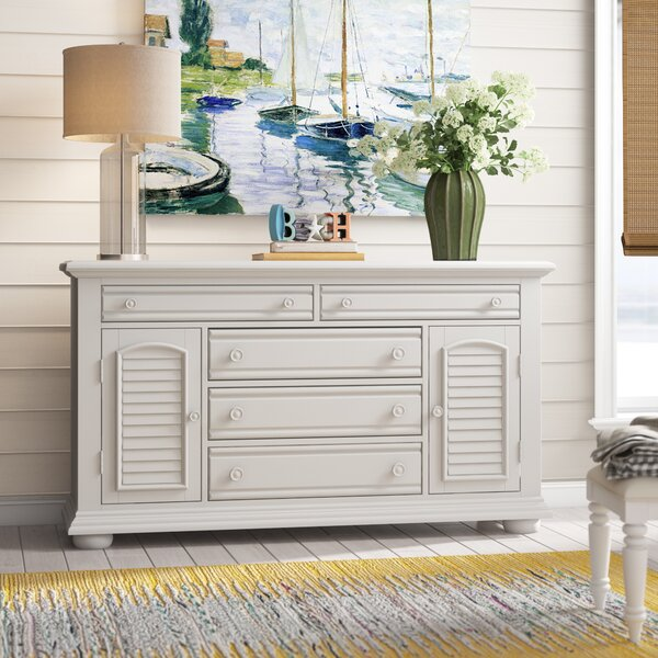 Dickens 5 Drawers Combo Dresser by Beachcrest Home
