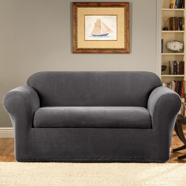 Stretch Metro Box Cushion Sofa Slipcover by Sure Fit