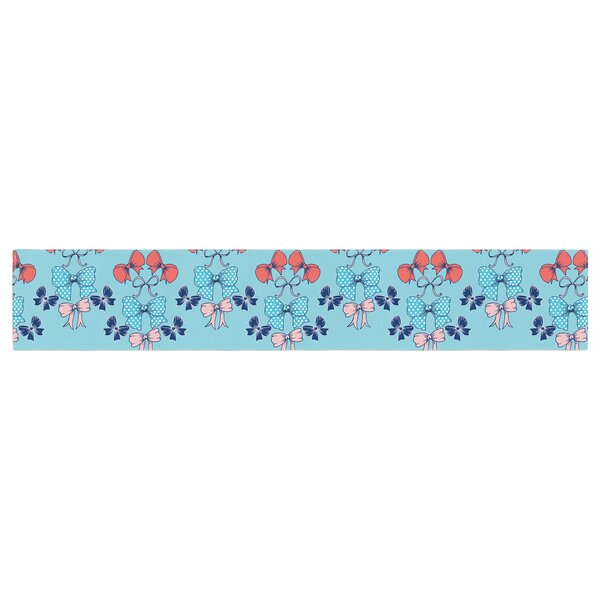 Anneline Sophia Bows Table Runner by East Urban Home