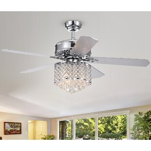 52 Wethington 5 Blade Led Ceiling Fan With Remote
