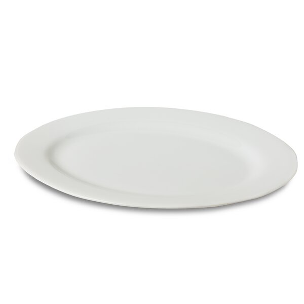 Porcelain Oval Platter by Honey Can Do