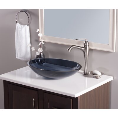 Attractive Scempio Oval Vessel Bathroom Sink