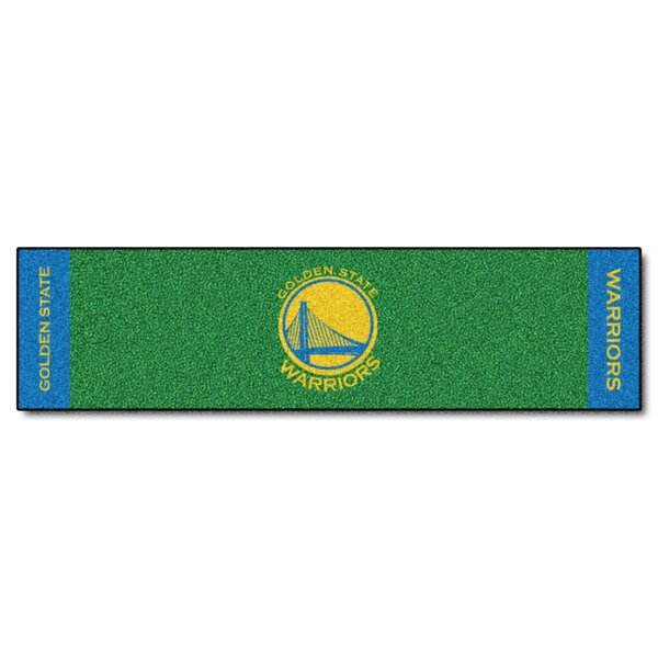 NBA - Golden State Warriors Putting Green Doormat by FANMATS