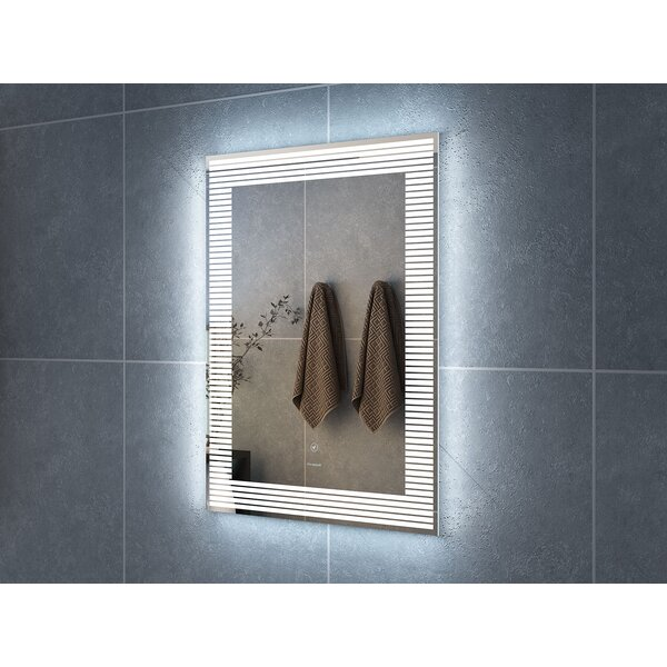 Aldarondo LED Bathroom/Vanity Mirror by Ebern Desi
