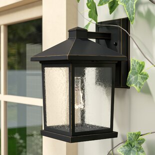 Affordable Leroy Coastal 1-Light Outdoor Wall Lantern By 17 Stories