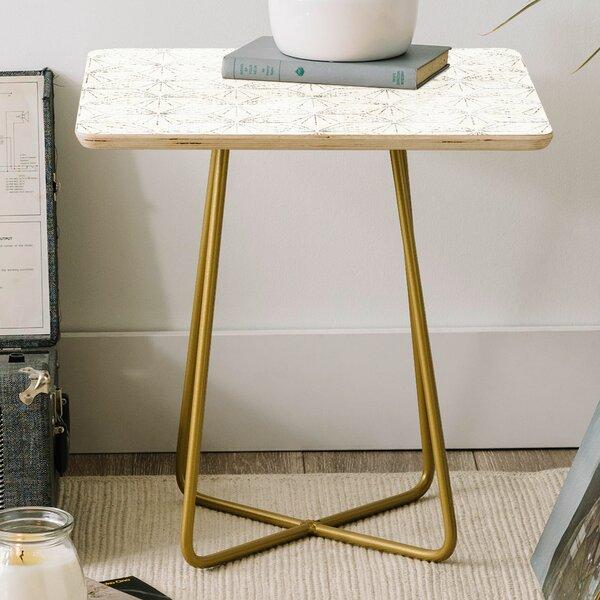 Review Holli Zollinger Sunburst Light Square End Table