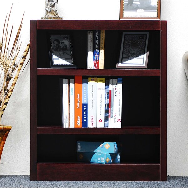 Ullin Single Wide Standard Bookcase by Andover Mil