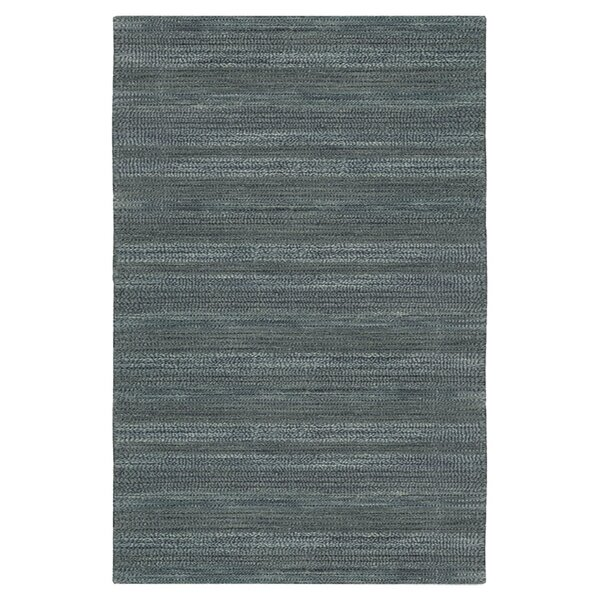 Meadow Hand-Loomed Blue Area Rug by Calvin Klein