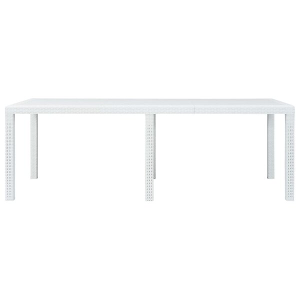 Effingham Plastic Dining Table By Bay Isle Home by Bay Isle Home Best