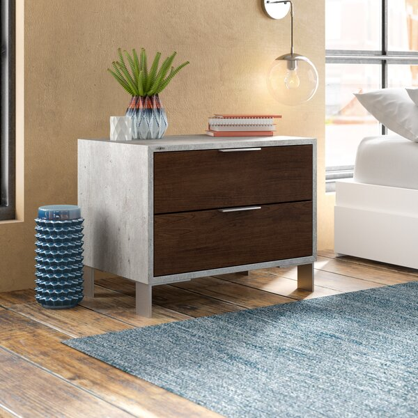 Lipscomb 2 Drawer Nightstand by Brayden Studio