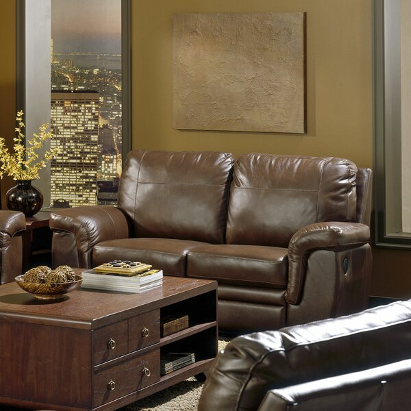 Famous Brands Brunswick Reclining Loveseat by Palliser Furniture by Palliser Furniture