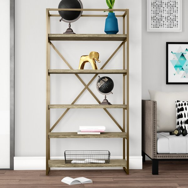Malone Etagere Bookcase By Mercury Row
