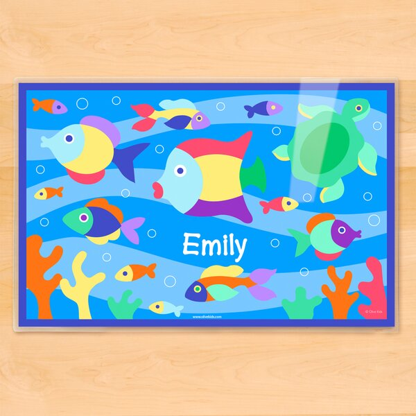 Something Fishy Personalized Placemat by Olive Kids