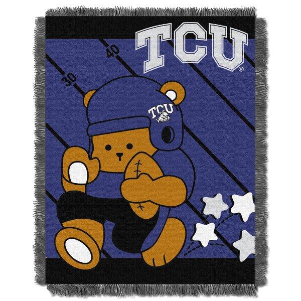 Collegiate TCU Baby Blanket by Northwest Co.