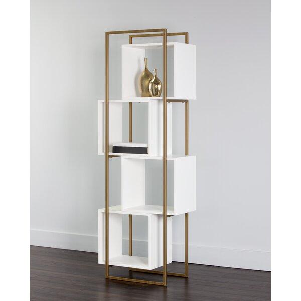 Cal Geometric Bookcase By Orren Ellis