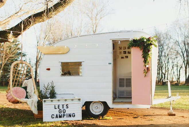 On The Road Again A Vintage Camper Revival Wayfair Ca