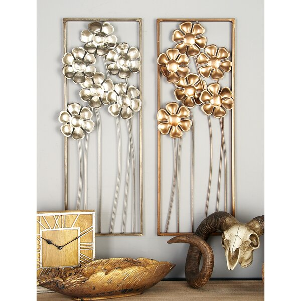 Metal Wall Décor (Set of 2) by Cole & Grey