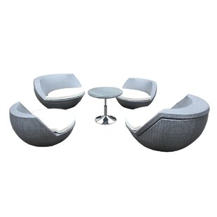 Beem 5 Piece Conversation Set with Cushions By Orren Ellis