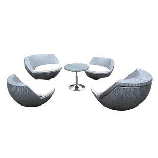 Beem 5 Piece Conversation Set with Cushions ByOrren Ellis
