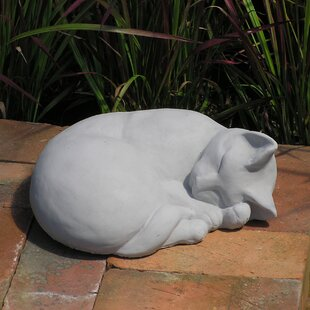 Clic Sleeping Cat Statue