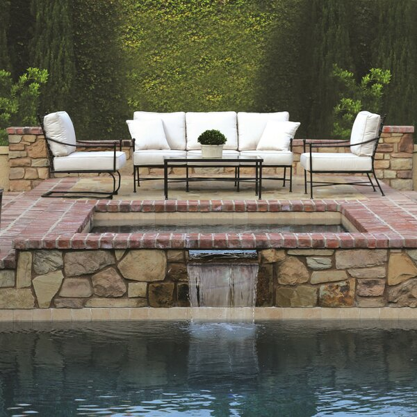 Provence 5 Piece Deep Sunbrella Seating Group with Cushions by Sunset West
