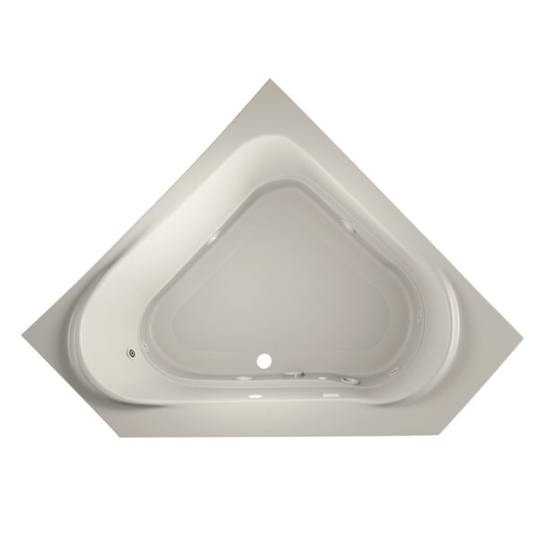 Capella 60 x 60 Drop In Whirlpool Bathtub by Jacuzzi®