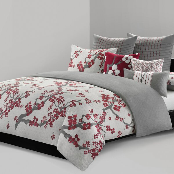 Cherry Blossom Duvet Cover Set by N Natori
